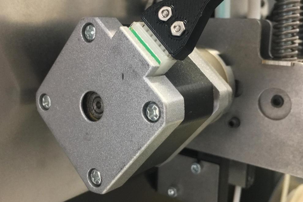 Stampante 3D professionale formato A4 - Sensore di fine filo